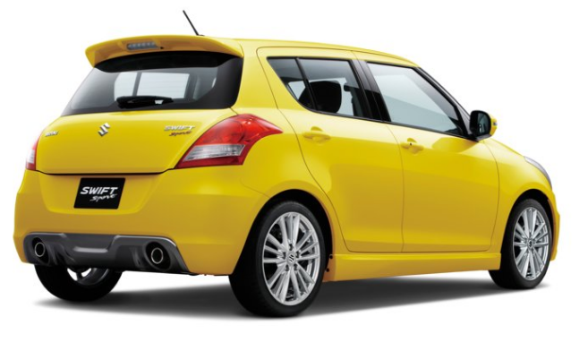 Suzuki Swift Sport получит новый мотор на 140 лошадей